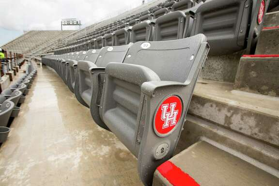UH will have spent about $3,000 per seat when TDECU Stadium is done, less than one planned high school facility, Chancellor Renu Khator says.