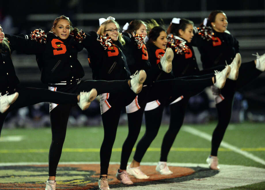 Football action between Shelton and West Haven in Shelton, Conn., on Friday Nov. 14, 2014. Photo: Christian Abraham / Connecticut Post