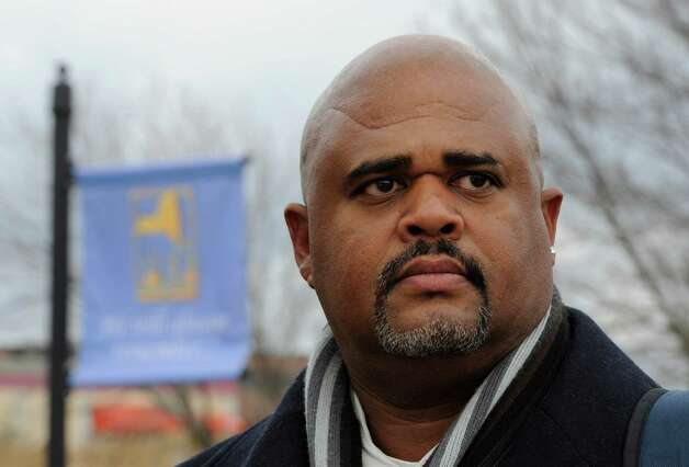 Wayne Spence, outside the PEF building in Latham, N.Y. Feb. 7, 2012.  (Skip Dickstein / Times Union) Photo: SKIP DICKSTEIN / 2011