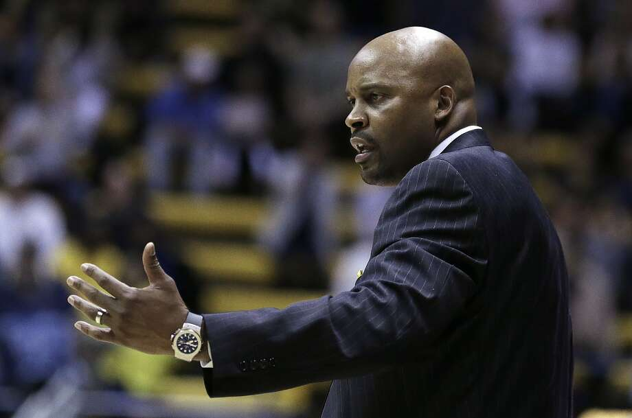 California head coach Cuonzo Martin gestures on the sideline in the first half of a game against Alcorn State in November. (AP Photo/Ben Margot) Photo: Ben Margot, Associated Press