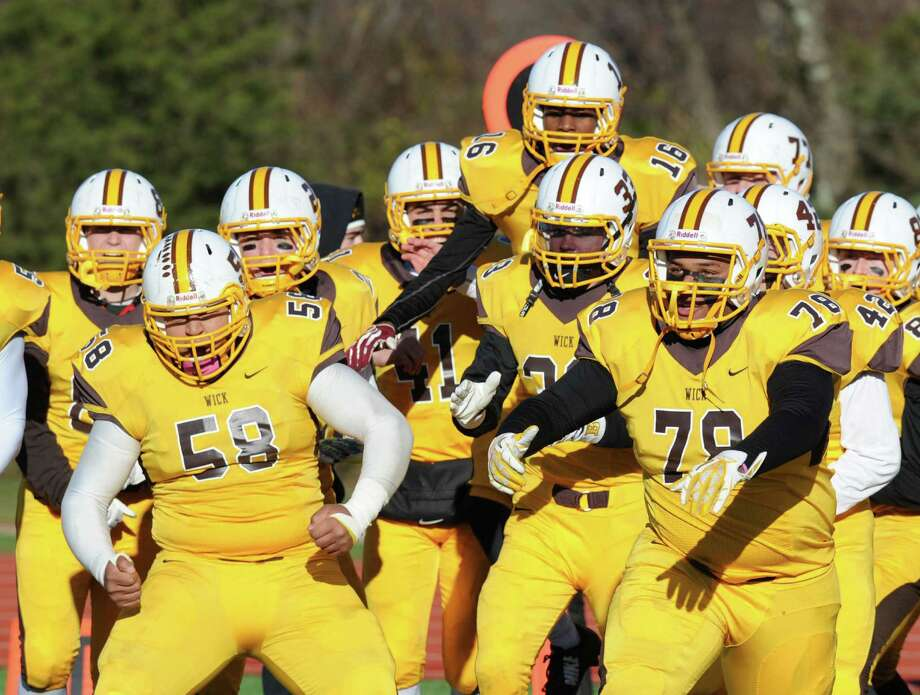 NEPSAC Wayne Sanborn Bowl high school football game between Brunswick School and Governor's Academy at Avon Old Farms School, Avon, Conn., Saturday afternoon, Nov. 15, 2014. Brunswick defeated Governor's Academy, 46-20, to take the bowl. Photo: Bob Luckey / Greenwich Time