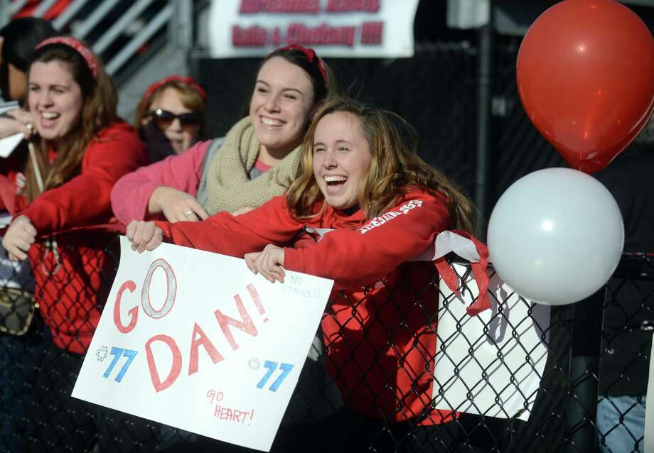 Scenes from the Sacred Heart regular season finale football game against Bryant University Saturday, Nov. 15, 2014, at Campus Field in Fairfield, Conn. Photo: Autumn Driscoll / Connecticut Post