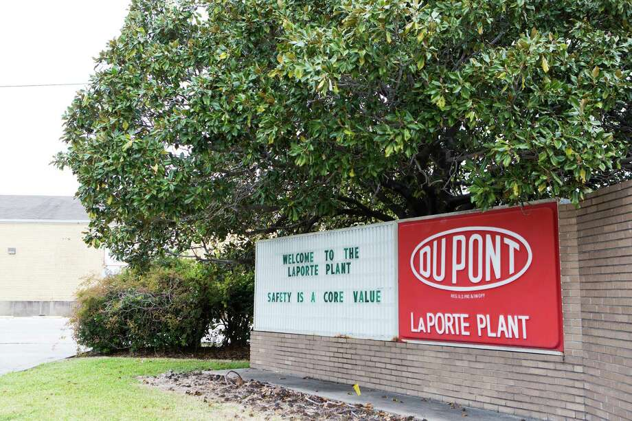 Four DuPont workers were killed in a chemical leak early Saturday morning in LaPorte, authorities confirmed. The leak occurred around 4 a.m. inside an operations building at a DuPont facility in the 11600 block of Strang Road. The leak was contained about two hours later, a company official said. Photo: Marie D. De Jesus, Houston Chronicle / © 2014 Houston Chronicle