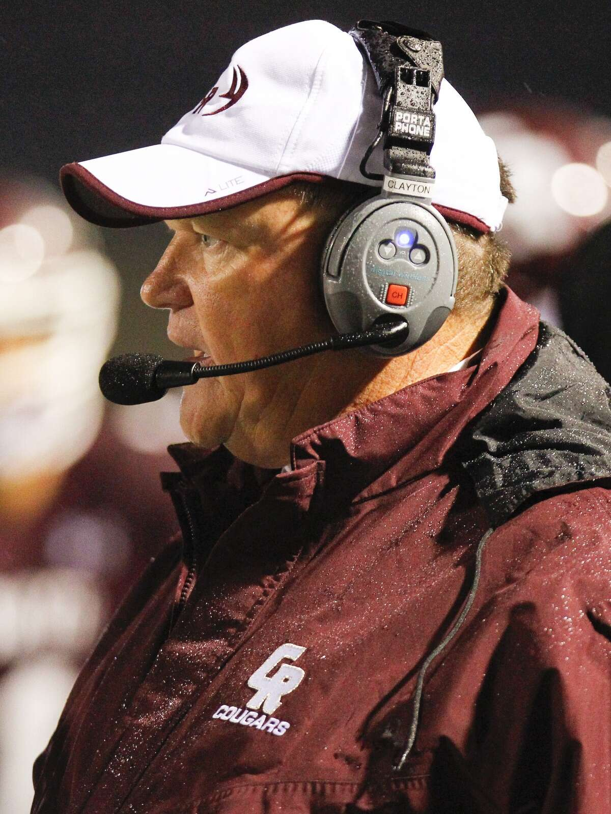Cinco Ranch head football coach Don Clayton.