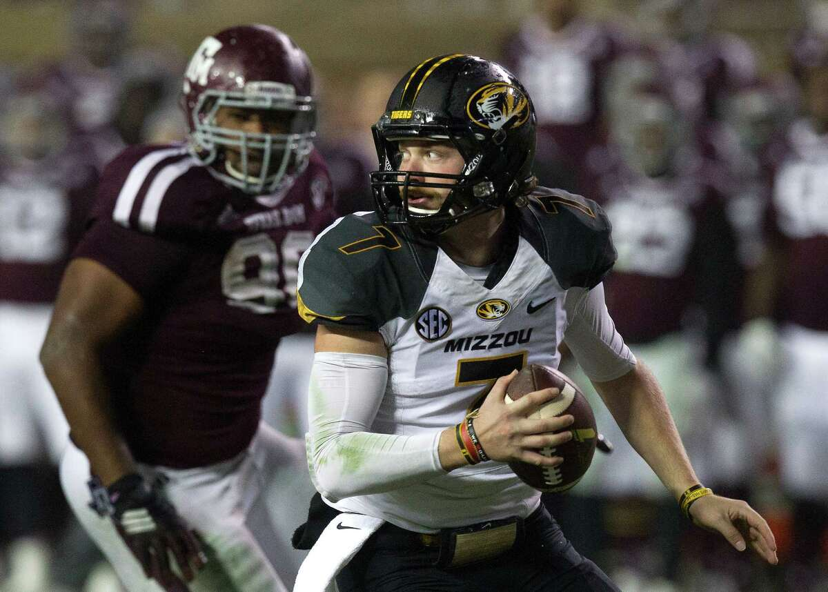 Missouri QB Maty Mauk (right) hopes shedding excess weight will help his production as he carries an inexperienced team.