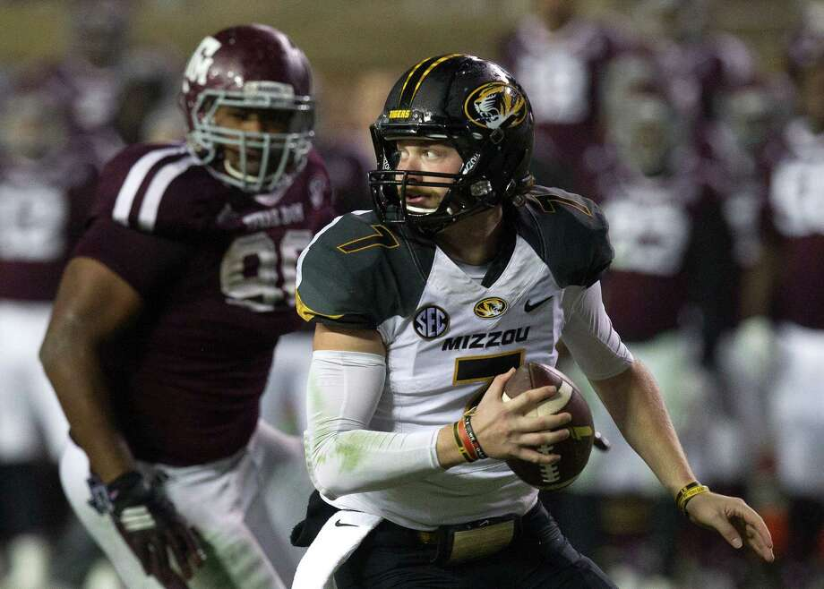 Missouri QB Maty Mauk (right) hopes shedding excess weight will help his production as he carries an inexperienced team. Photo: Cody Duty /Houston Chronicle / © 2014 Houston Chronicle