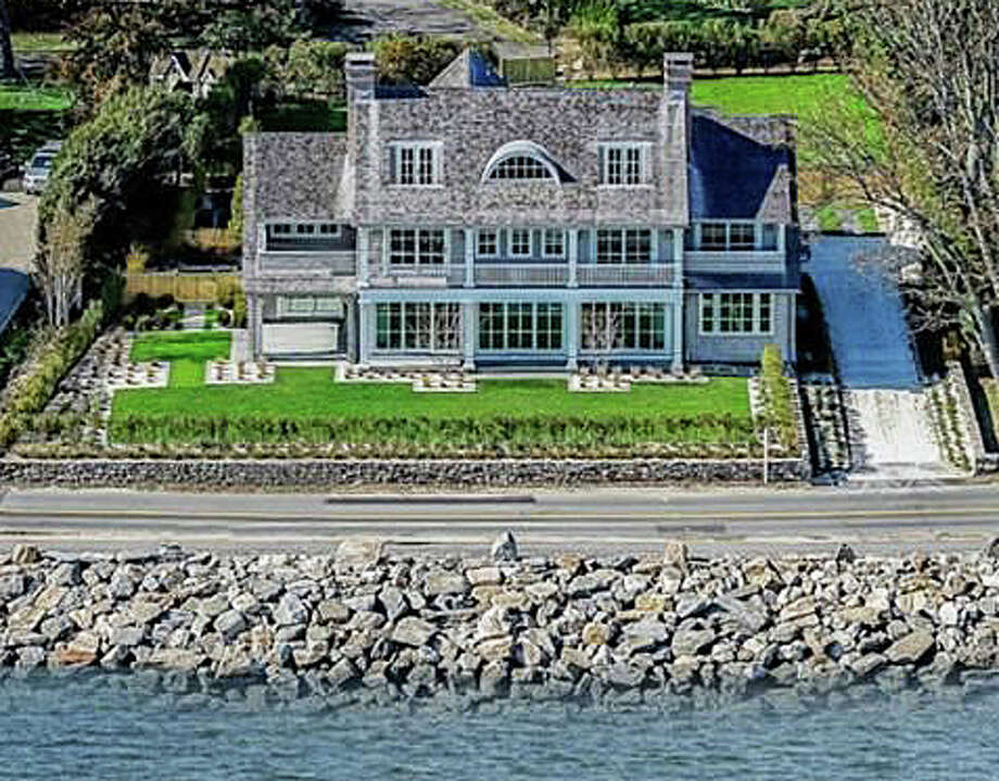 The property at 270 Hillspoint Road was recently sold for $7,526,000. Photo: Contributed Photo / Westport News
