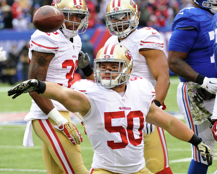 Chris Borland touched off a debate when he retired after his rookie season with the 49ers, citing worries about the dangers of the game, Photo: Bill Kostroun / Associated Press / FR51951 AP