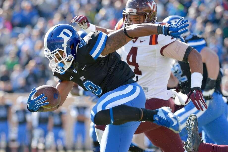 25. Duke (8-2) Last week: 19 Photo: Grant Halverson, Getty Images