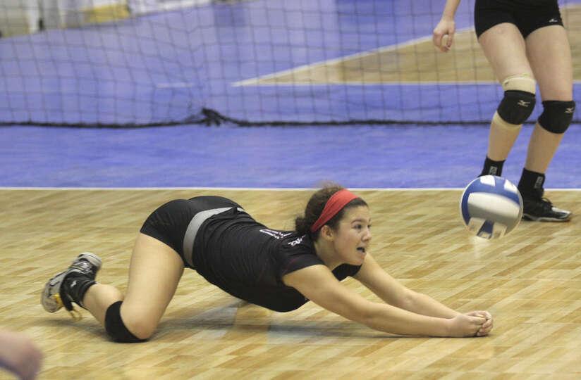 Hot high school volleyball girls
