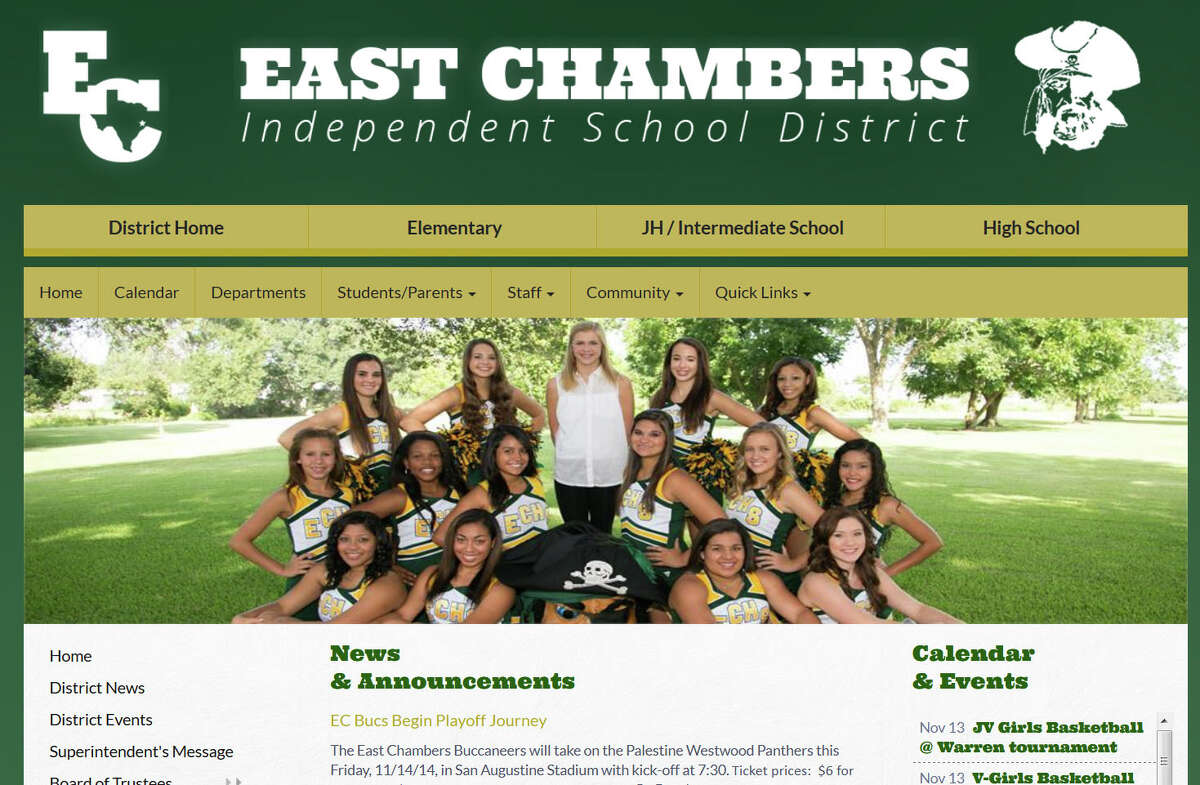 East Chambers: 70 per 1,000 students