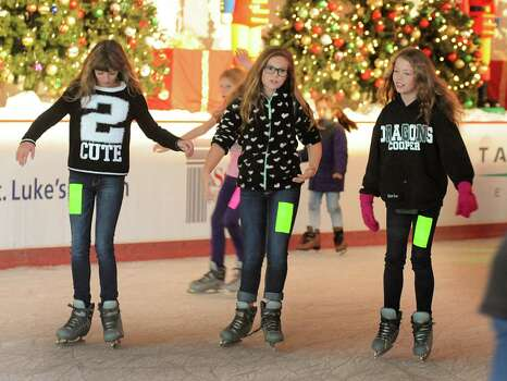 Outdoor ice skating Now through Jan. 19 and Feb. 8Living in Texas doesn't mean you can't enjoy some of the perks of living up North. Strap on your skates and head out to the ice rink.Where: The Woodlands Town Center at Lake Robbins and  Six PinesWhen: Open daily through Jan. 19Tickets: $5-$10.50, includes skate rental. Information: woodlandscvb.com,  281-419-5630Where: The Ice at Discovery Green at 1500 McKinneyWhen: Open through Feb. 8 Tickets: $13 (includes rentals)Information: discoverygreen.com Photo: David Hopper, Freelance / freelance