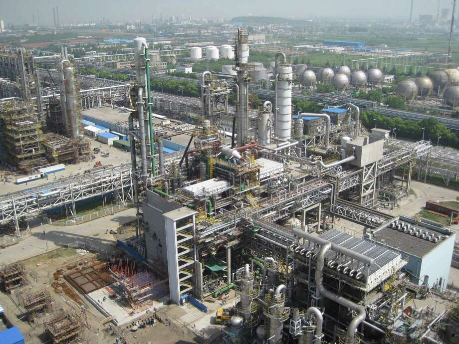 Fluor is responsible for significant petrochemical projects in Texas.