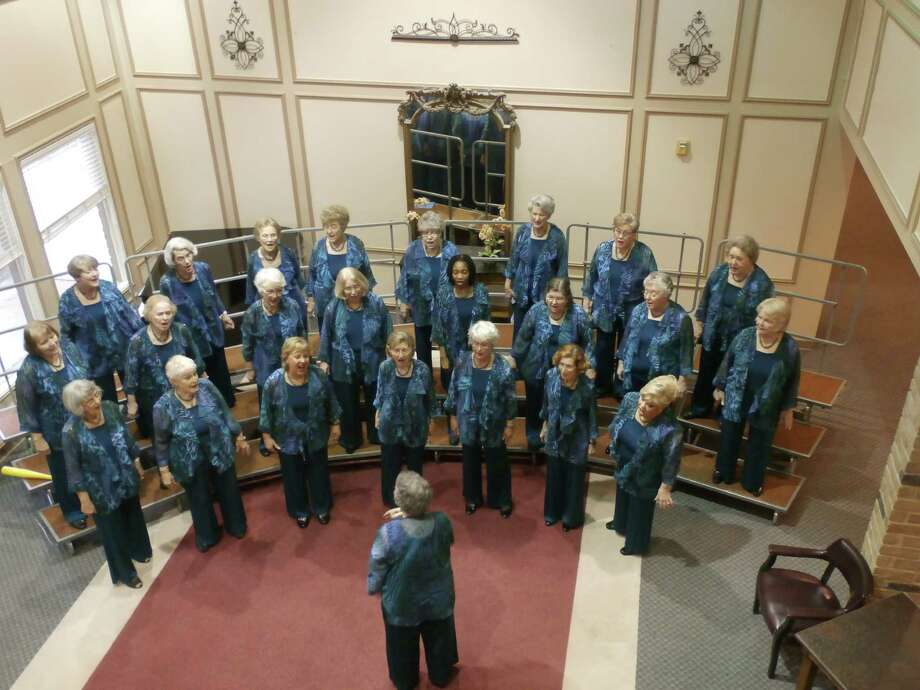 The Decibelles group practices at Treemont each week, and in turn, gives a concert for the community during the holiday season.