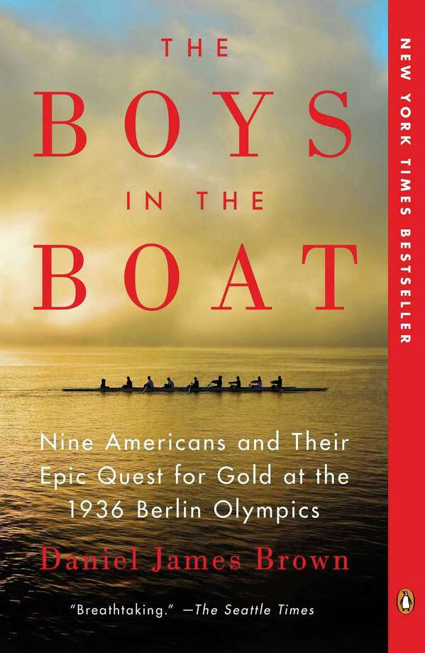 "The book chosen for this year's Greenwich Reads Together program is ""The Boys In the Boat,"" by Daniel James Brown. It tells the story of the 1936 University of Washington rowing team and how they stunned the world at Hitler's Olympics. Photo: Contributed Photo / Greenwich Time Contributed"