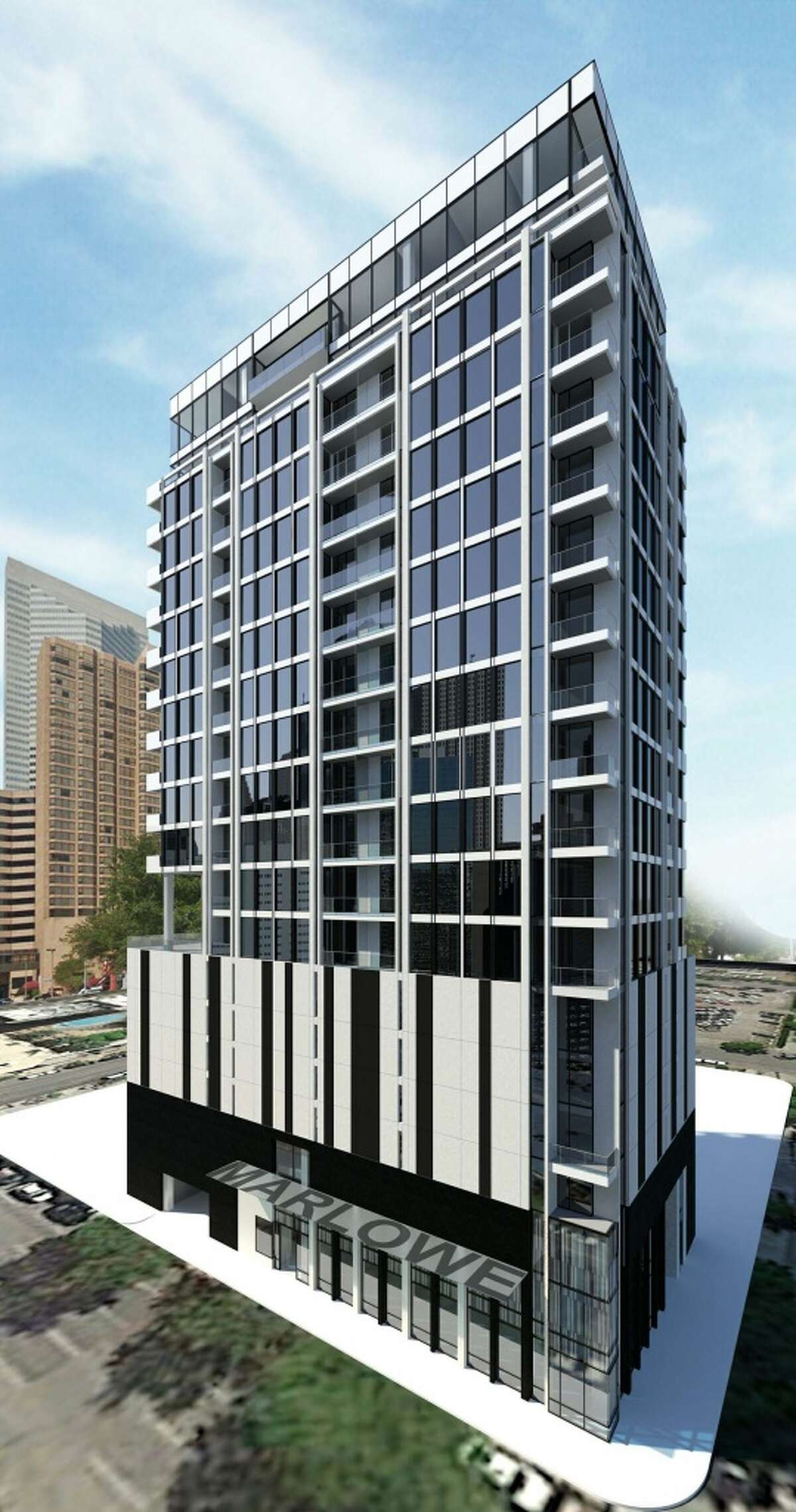 Randall Davis and Roberto Contreras are planning Marlowe, a condominium tower.