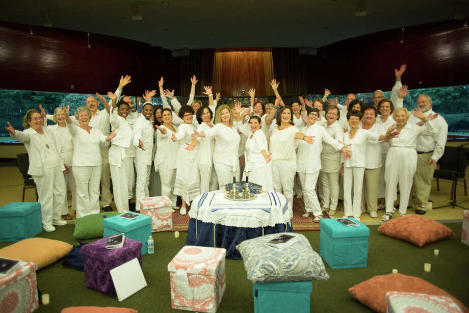 Stamford's interfaith musical group, New World Chrous, was formed three years ago at Temple Beth El to mark the 10th anniversary of 9/11. Photo: Contributed Photo / Connecticut Post Contributed