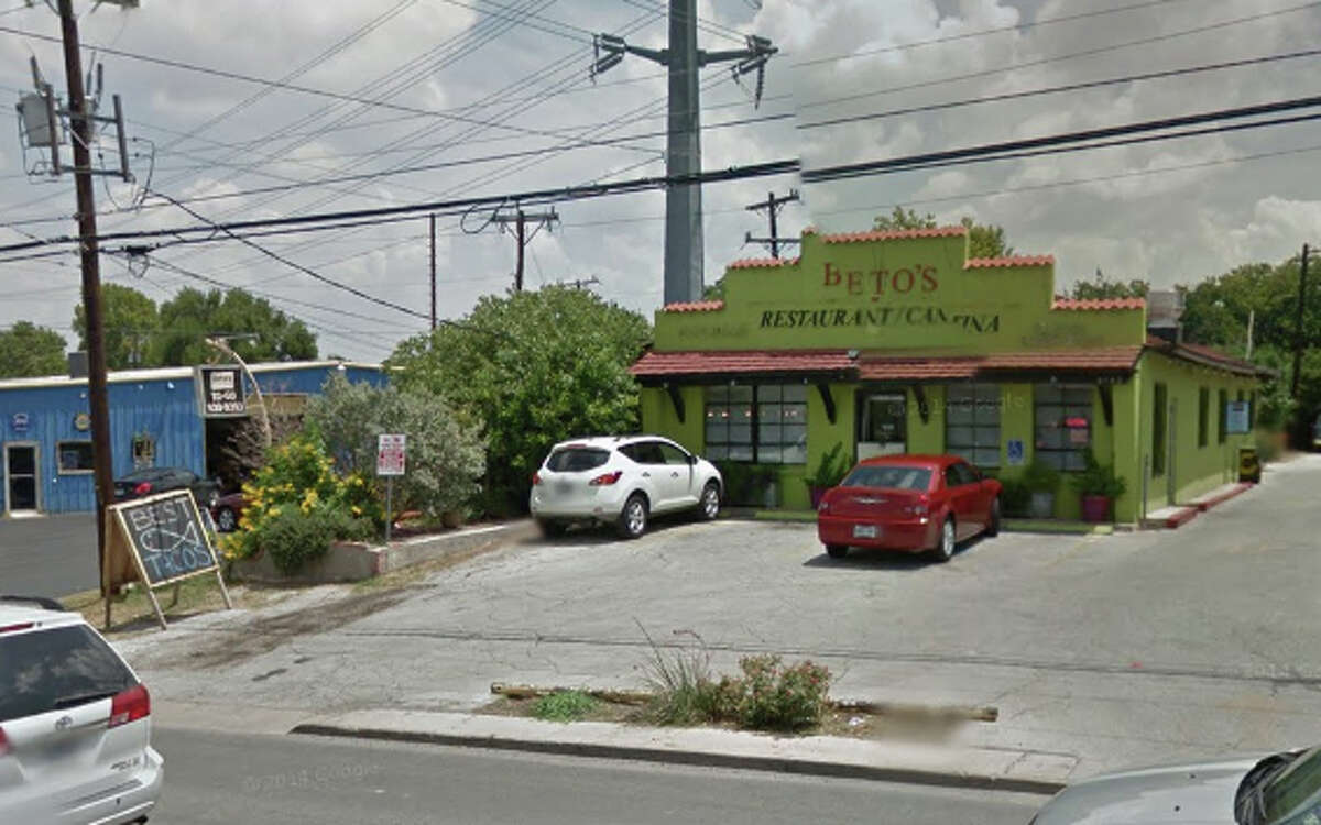 BETOS RESTAURANT: 8142 BROADWAY San Antonio , TX 78209 Date: 11/13/2014  Demerits: 16  2 Observed potentially hazardous food not at required temperature in outside walk in cooler. Ensure all potentially hazardous food keep and maintain 41 degrees F or below.  8 229.163 (n)- eat, drink, smoke. Employee found drinking from a closed beverage container with gloves on followed by handling phone and then handling food. Employees must wash hands in a handwashing sink and change into new gloves every time their gloves come into contact with something other than food.  12 Observed salad dressing bottle being stored on top of salad mix in cold hold unit. Ensure no containers are placed in contact with ready to eat food. Especially if container is handled routinely.  25 Observed knife and pizza cutter stored in between food prep area. Ensure all utensils are sanitized and stored properly.