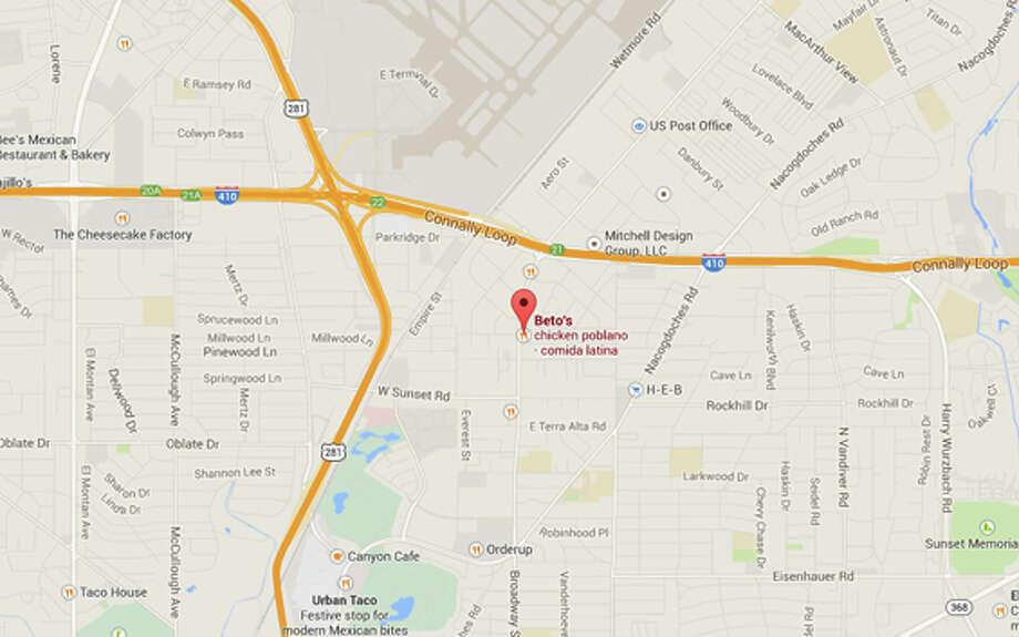 BETOS RESTAURANT: 8142 BROADWAY San Antonio , TX 78209  Photo: Google Street View/Maps
