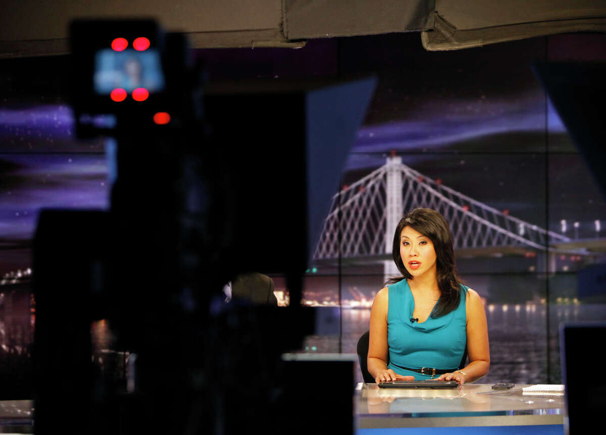 Veronica De La Cruz is on the air during the KPIX 6 p.m. newscast. She's also working on