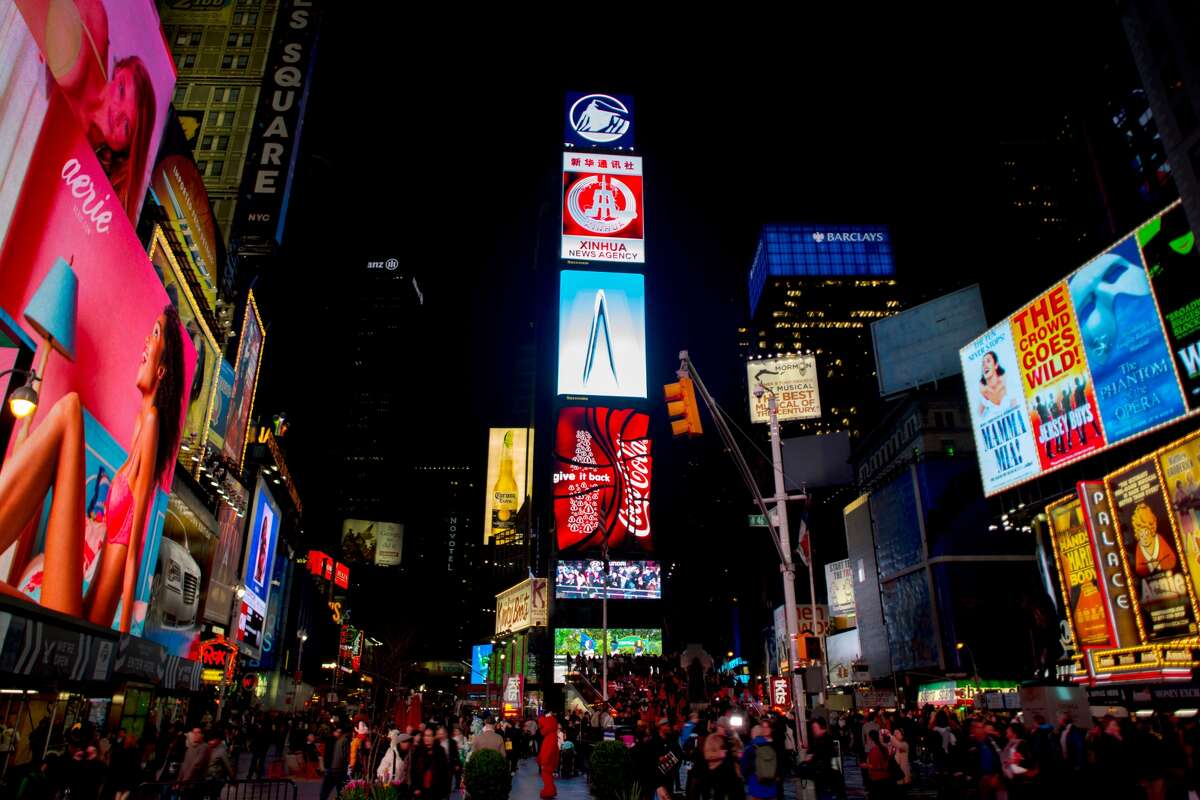 Times Square is going to be crazy busy this holiday season, and hotel rates in the area will be crazy, too.