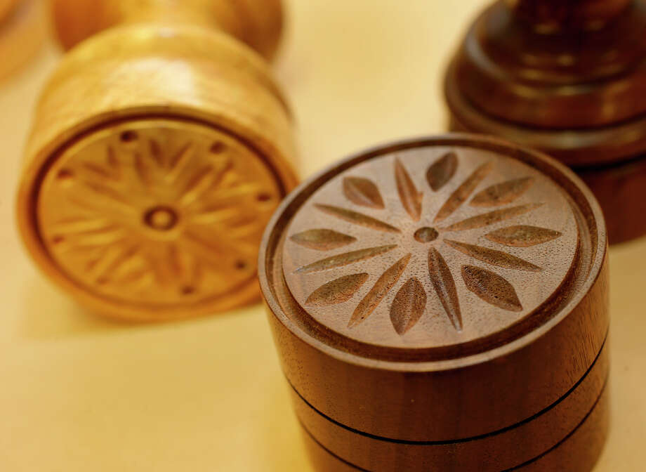 Corzetti stamps can be made from a variety of woods. Photo: Brant Ward / The Chronicle / ONLINE_YES