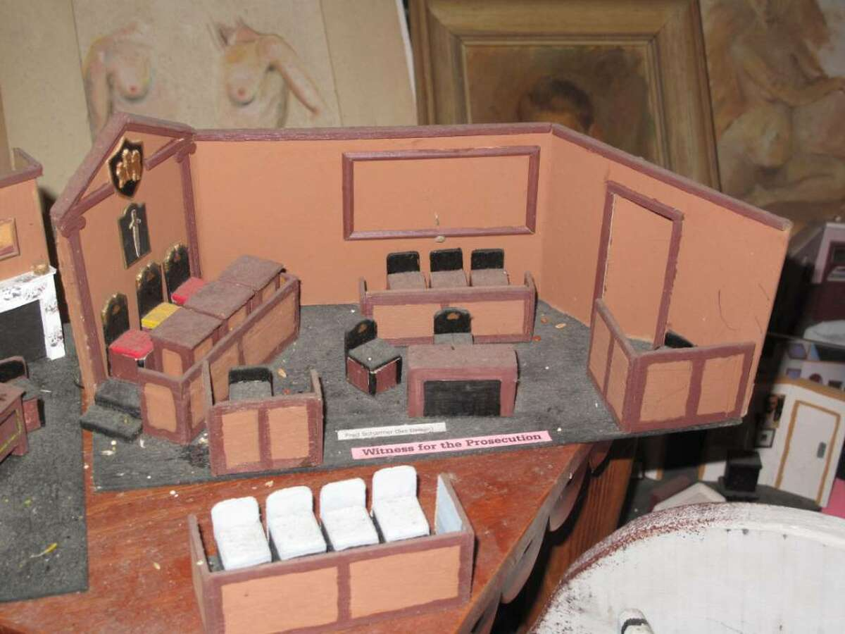 The miniature for Witness for the Prosecution is one of the first Scharmer ever created.