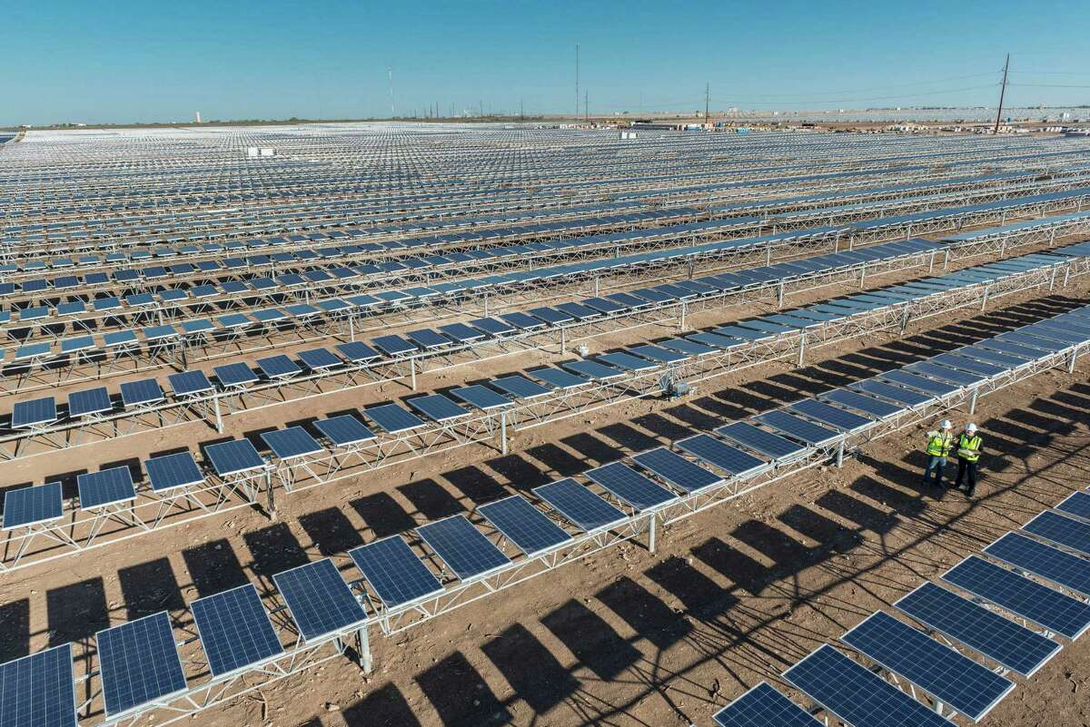 OCI Solar Power's Alamo 4 plant in Brackettville is one of four currently in operation in a partnership with CPS Energy.