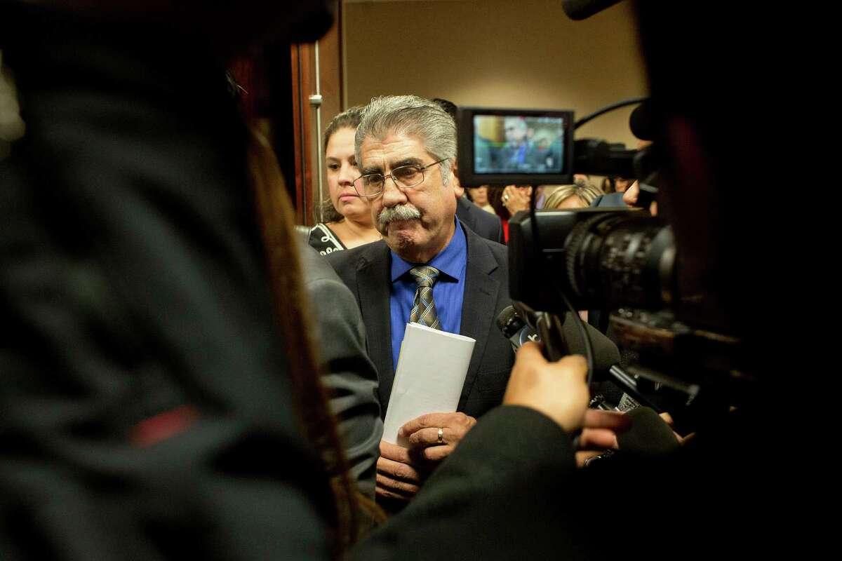 Former Harris County Precinct 6 constable Victor Trevino was sentenced to 10 years of probation.