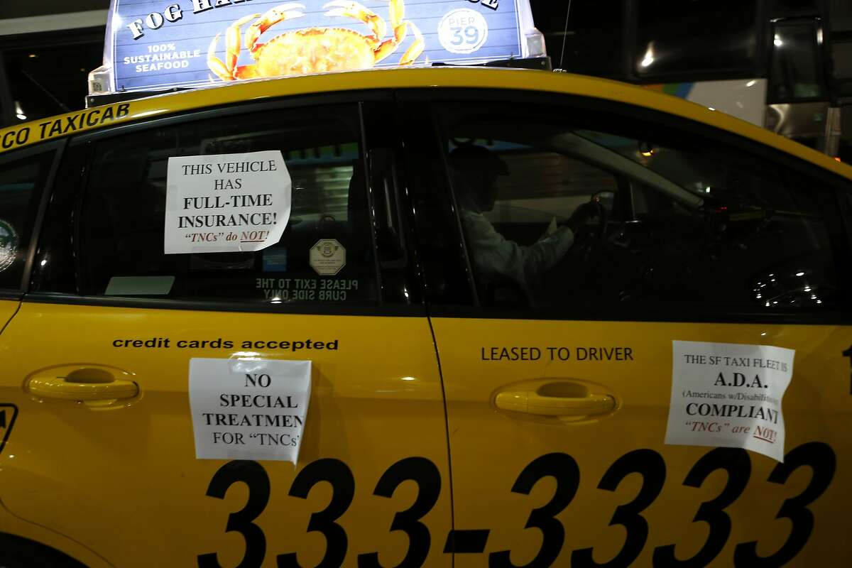 Sf Taxi Drivers Promise A Repeat Of Airport Protest