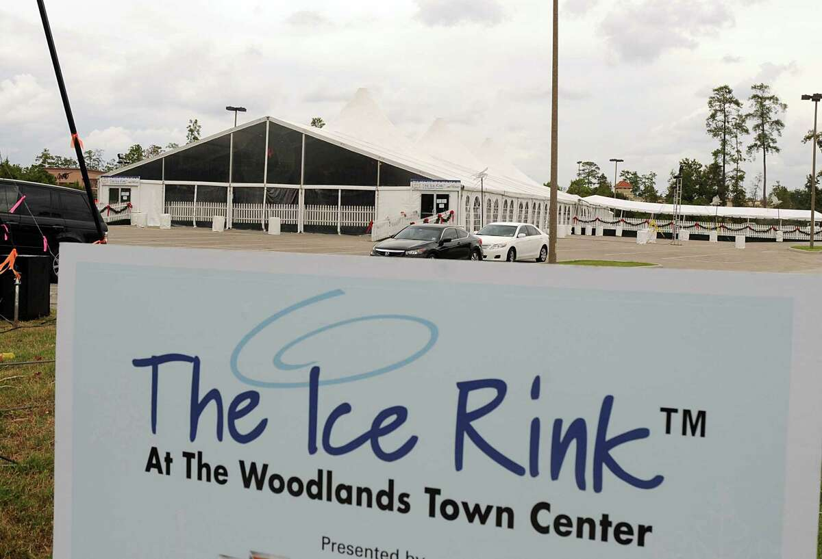 The Ice Rink at The Woodlands Town Center on the northeast corner of Lake Robbins and Six Pines Drive. The Ice Rink is open from November 17 through January 21, 2013. Photo by David Hopper