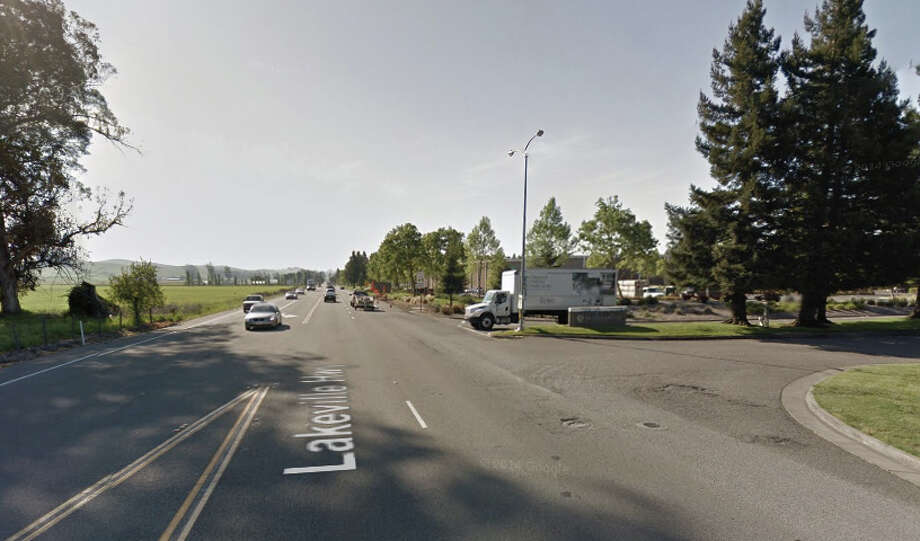 Lakeville Highway in Petaluma. Photo: Google Maps