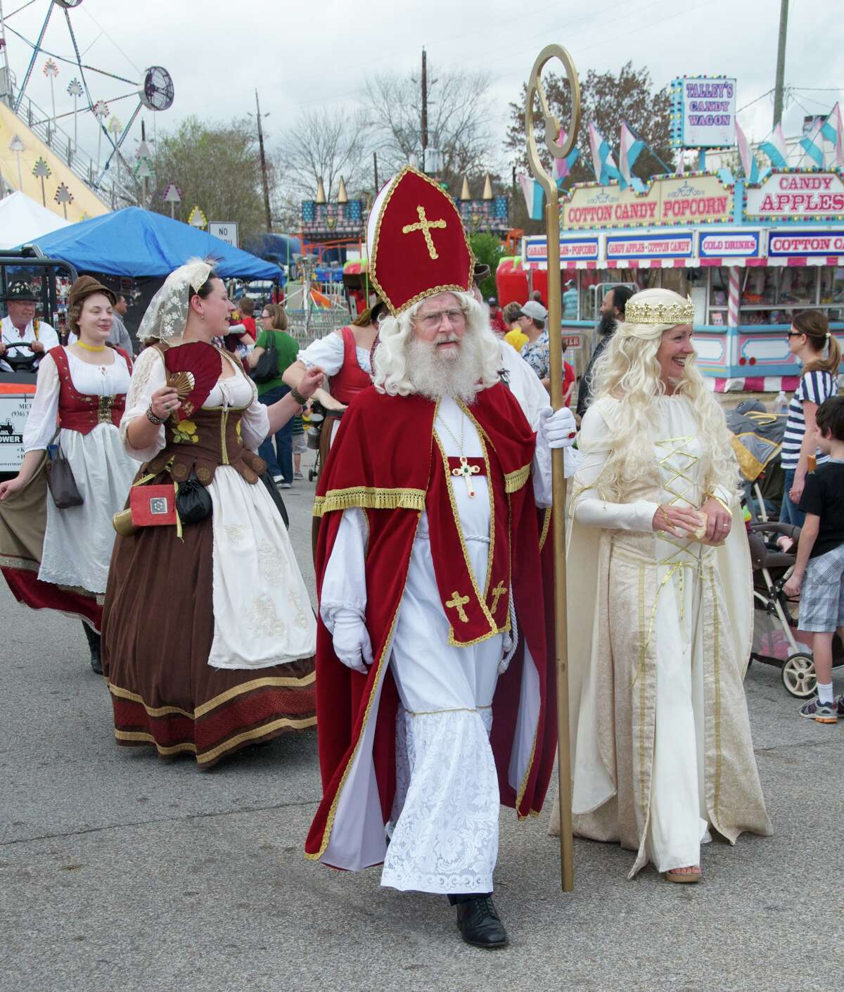 The Tomball German Christmas Market is an open-air market featuring 120 unique street merchants and antique shops dotting the streets of this old town. This year's event is 6 p.m. to 10 p.m. on Friday, Dec. 12, 10 a.m. to 10 p.m. on Saturday, Dec. 13 and 10 a.m. to 6 p.m. on Sunday, Dec. 14 centered in Tomball's Old Town near the historical Train Depot, 201 S. Elm in Tomball