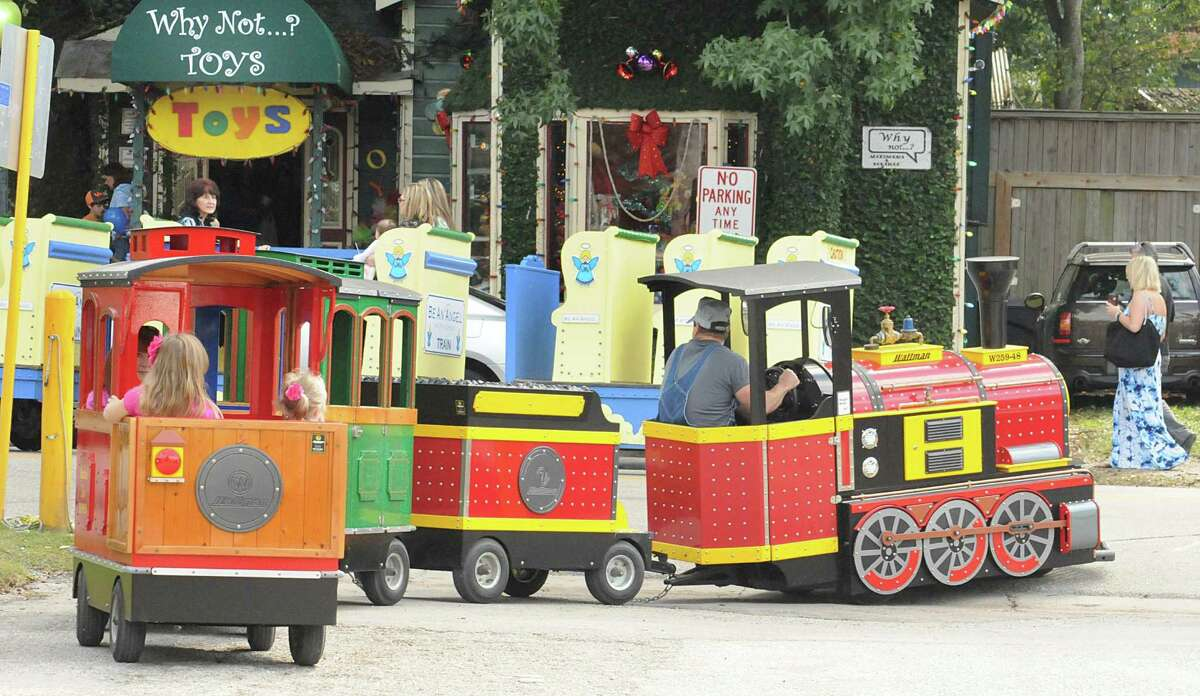 Trackless trains are a big favorite of children and adults during the 33rd annual Home for the Holidays in Old Town Spring. The event is scheduled every weekend through Dec. 24. Family friendly activities, displays of lights, trackless train rides and photos with Santa are part of the activities.