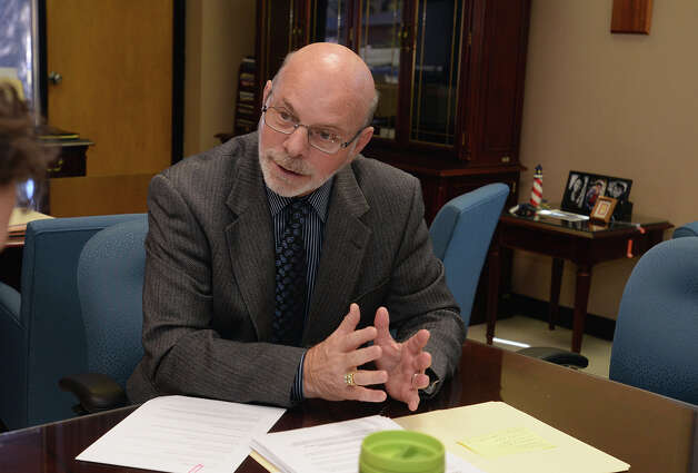 Superintendent Vern Butler talks Tuesday about a Texas Education Agency audit claiming false attendance records at several BISD schools.  Photo taken Tuesday, November 18, 2014 Guiseppe Barranco/The Enterprise Photo: Guiseppe Barranco, Photo Edi