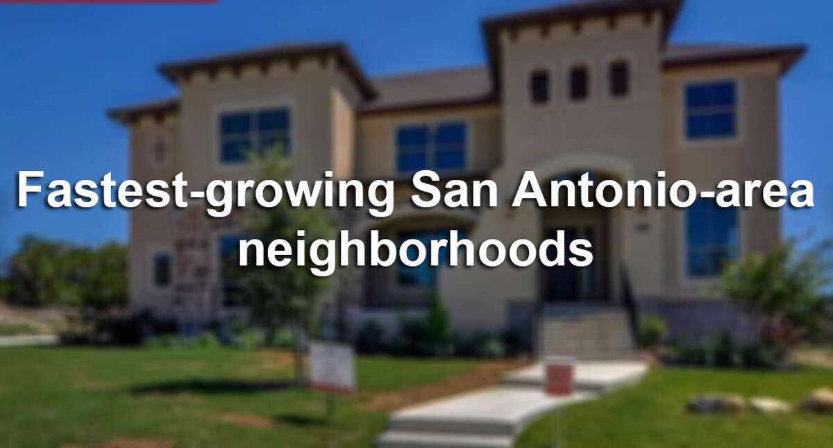 San Antonio's real estate market continued its red-hot pace in June when 2,925 homes were sold - a record number according to data released by the San Antonio Board of Realtors. Click through the slideshow to see San Antonio-area neighborhoods are growing the fastest.