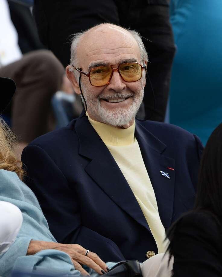Sir Sean Connery in 2013.