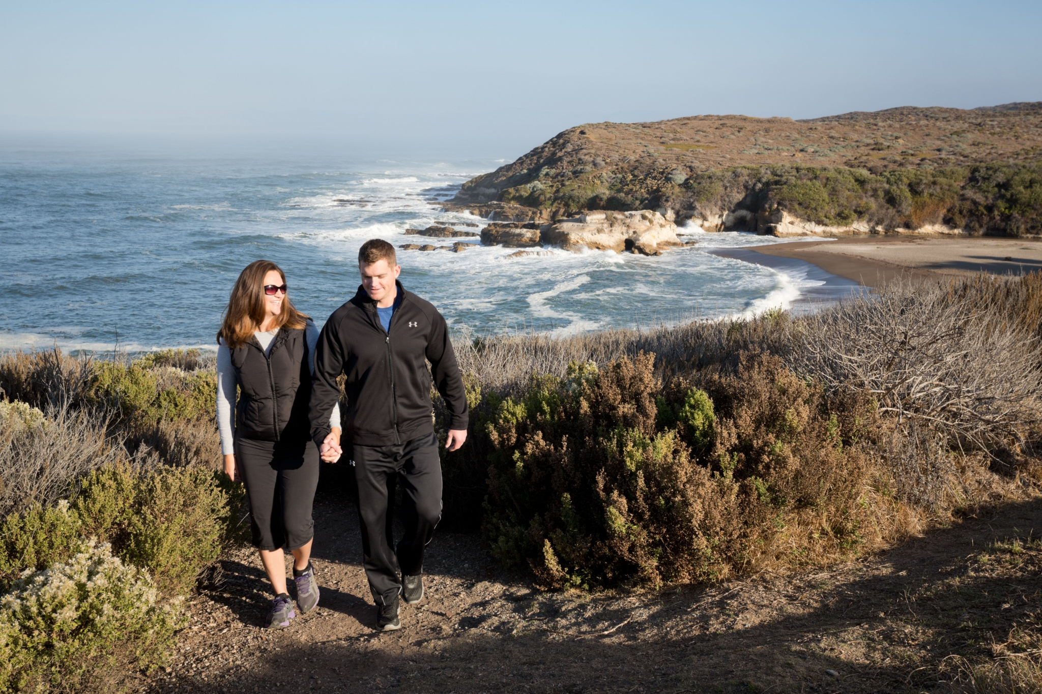 Winter hikes on the central coast san francisco chronicle for Winter vacation east coast