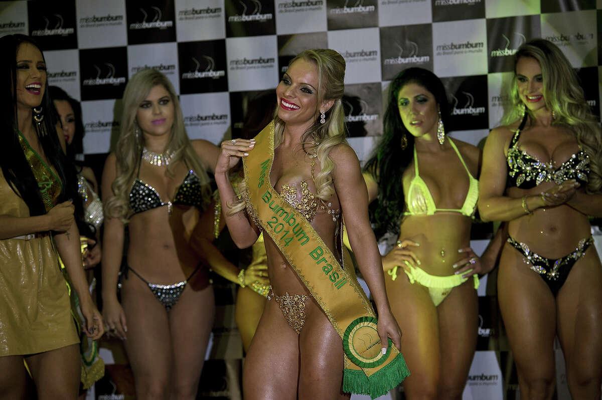 Brazil's miss bumbum pageant names best butt