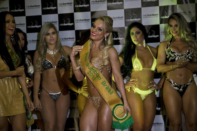 Brazil S Miss Bumbum Pageant Names Best Butt San