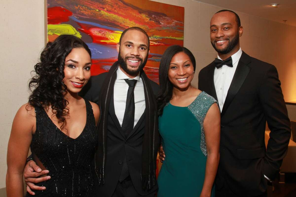 November : Adrianna Buford, from left, Warren Luckett, Rebekah Bolston and Jonathan Bolston were among those who turned out to hear En Vogue at the United Negro College Fund's annual gala.