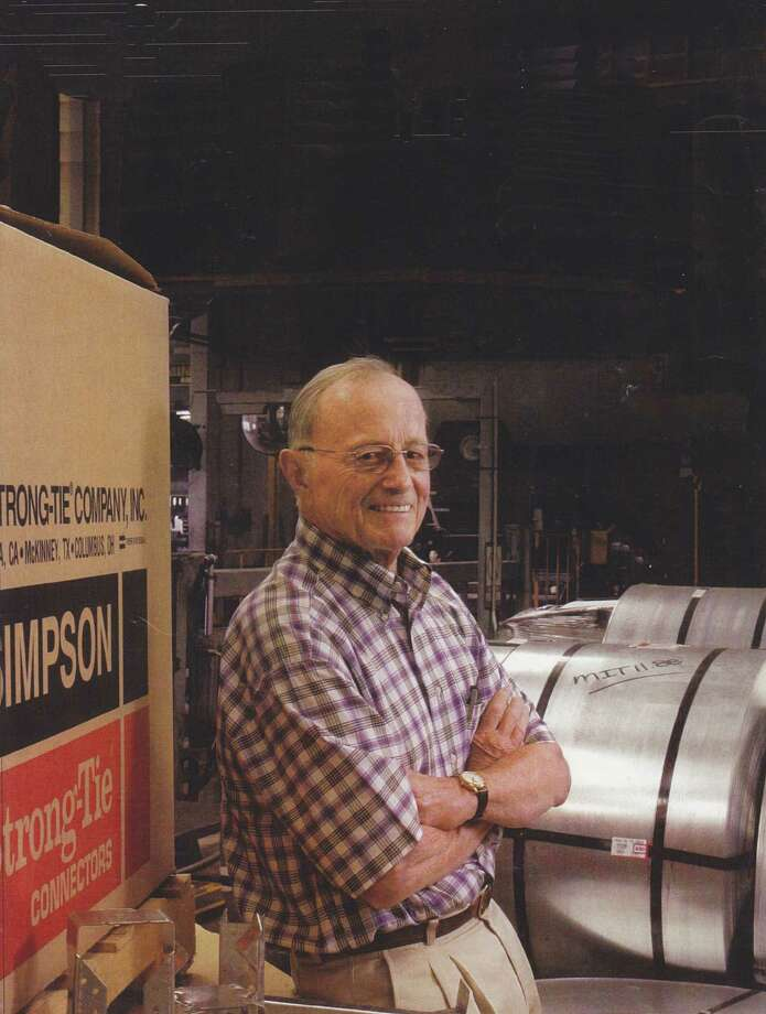 Barclay Simpson at Simpson Manufacturing, circa 2004 Photo: Unknown / / Courtesy Simpson Strong-Tie Co.