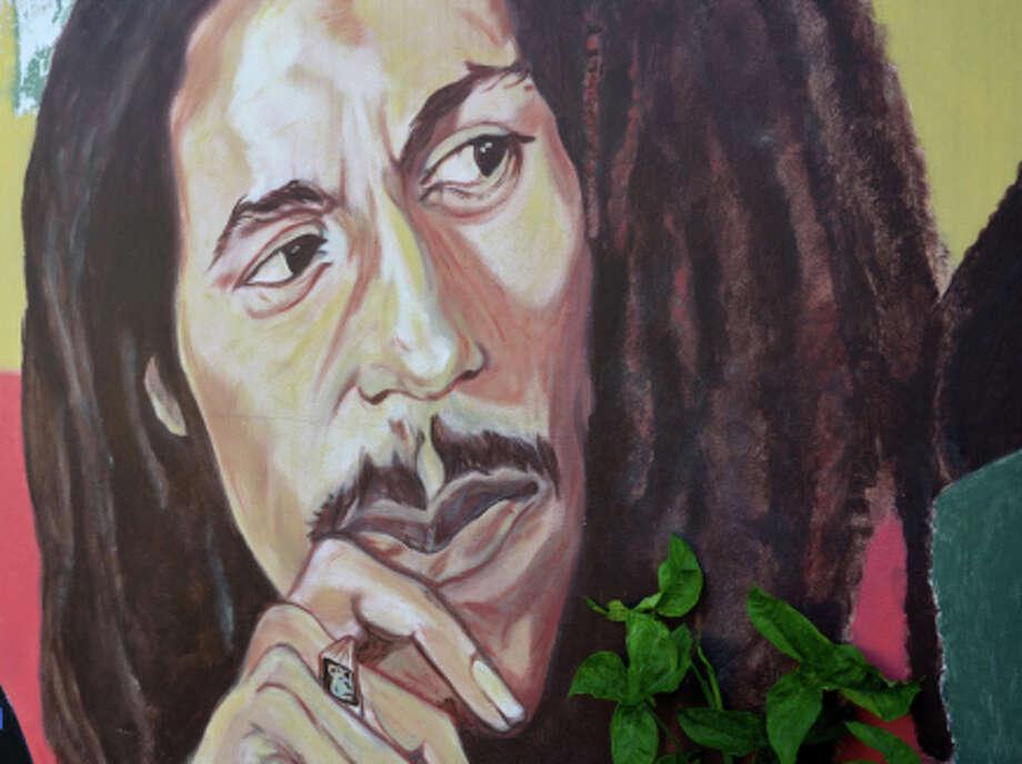 Bob Marley, here in a Jamaica mural, will be a brand. Photo: David McFadden / Associated Press / AP