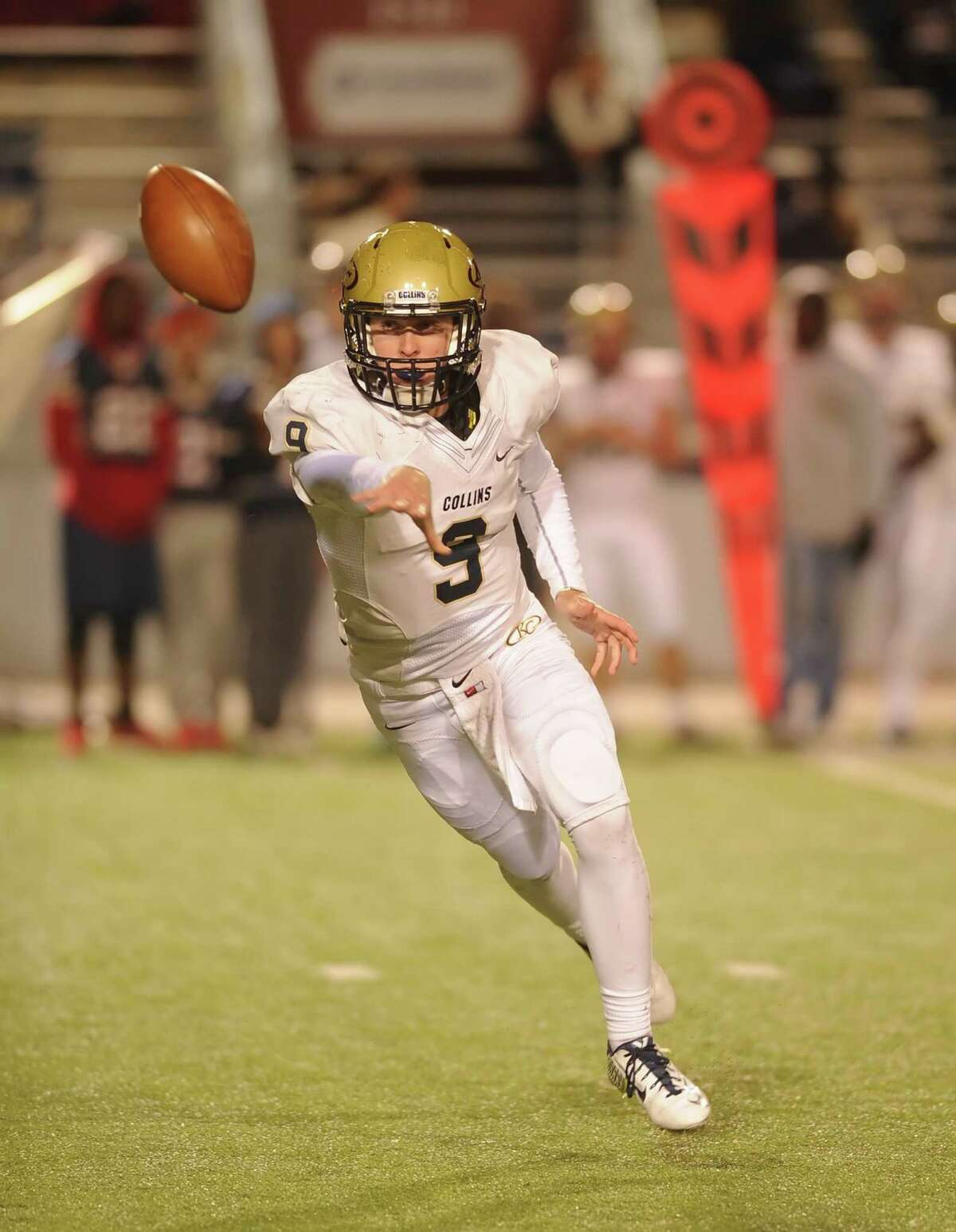 Klein Collins quarterback Nathan Edmonds and the Tigers are peaking at the right time.