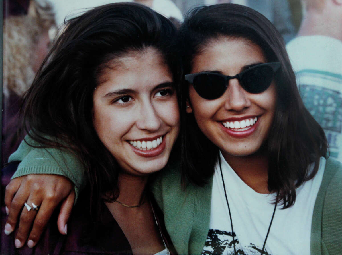 Cavalheiro (right) lost her 28-year-old sister Gabriela (left) to breast cancer. Her mother died of ovarian cancer at age 47.