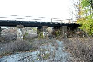 The old Mallory hat Factory site at 89 Rose Hill Avenue, in Danbury, Conn, on Tuesday, November 18, 2014. The City of Danbury has been unable to redevelop the property because of pollution in the ground.