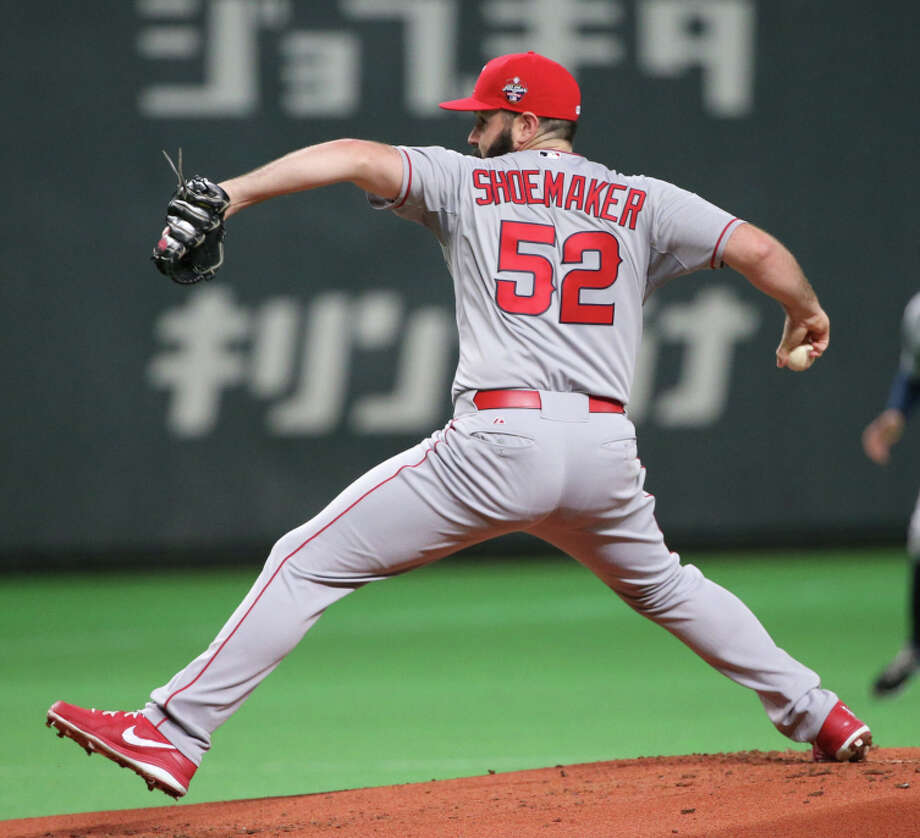 Matt Shoemaker led a 3-1 win for the Major League All-Stars in Sapporo in the Japan series finale. Photo: Atsushi Tomura / Getty Images / 2014 Getty Images