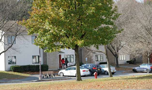 Exterior of Freedom Quad, a UAlbany dormitory off Fuller Rd. on Tuesday, Nov. 18, 2014 in Albany,  N.Y. (Lori Van Buren / Times Union) Photo: Lori Van Buren / 00029538A