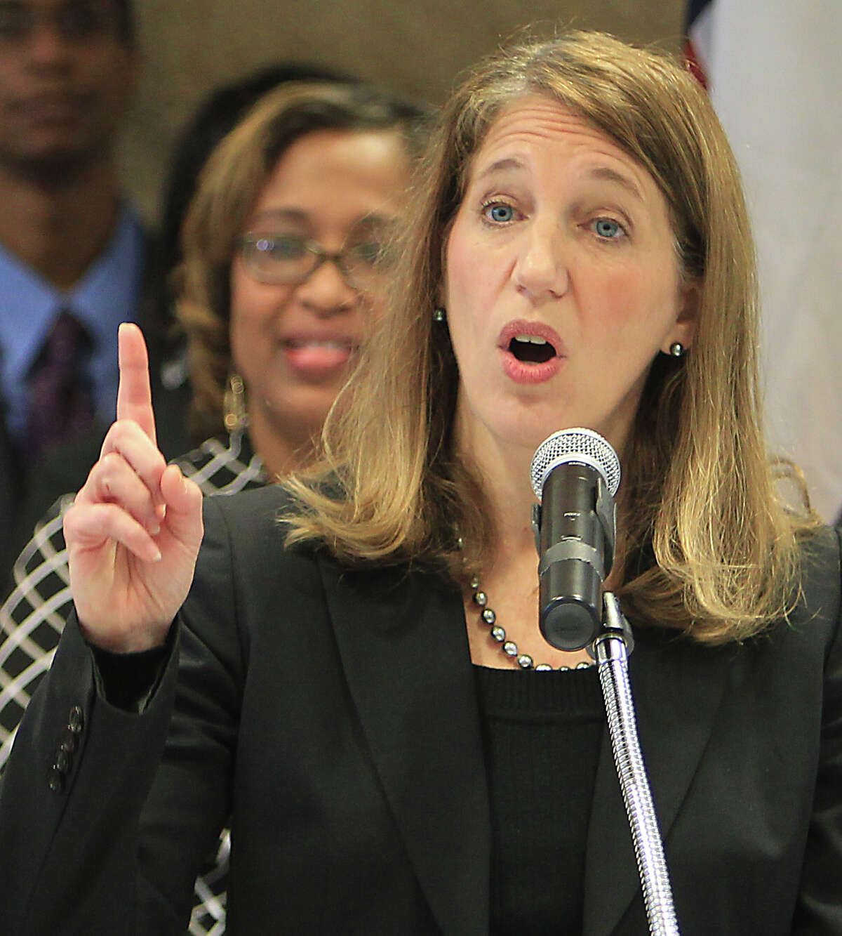 Health and Human Services Secretary Sylvia Burwell says she hasn't decided on having a special enrollment period for those discover they'll face a penalty.