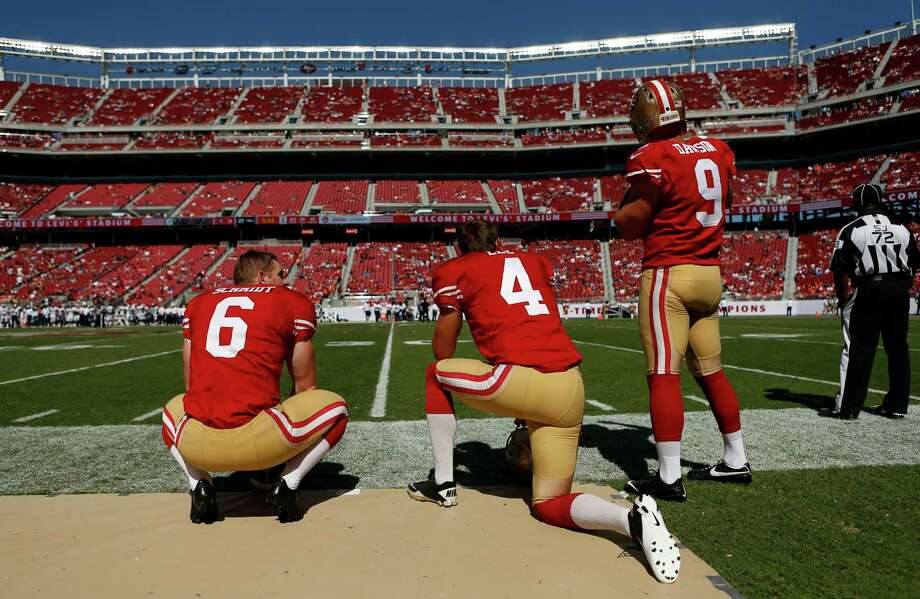 Jerseys NFL Online - Draft fallout: Salary could cost 49ers' Andy Lee, others - SFGate
